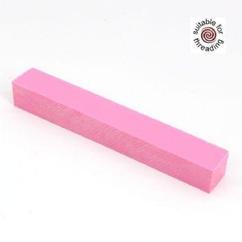 Semplicita SHDC Carnation Pink acrylic pen blanks